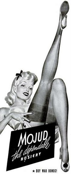 Sinful Sunday Brief History of Nylon Stockings Retro Advertising, Vintage Advertisements, Vintage Ads, Vintage Posters, Advertising Agency, Vintage Photos, Vintage Stockings, Nylon Stockings, Lingerie Vintage