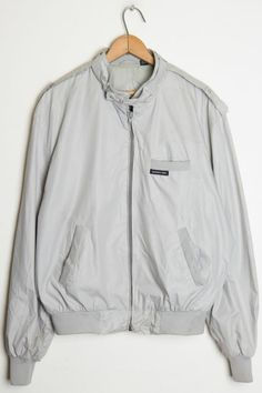 Grey Member's only Jacket