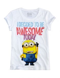 Awesome Minion Graphic Tee