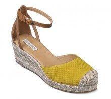 Sandália espadrille anabela amarela | Sandálias | Bottero Calçados