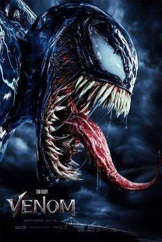 Venom movie poster Fantastic Movie posters p… Venom Comics, Marvel Comics, Marvel Venom, Marvel Villains, Marvel Heroes, Film Venom, Venom Movie, Captain Marvel, Venom Tattoo