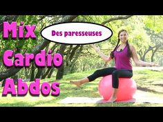 Le mix cardio et abdos des paresseuses ;-) - YouTube Cardio, Pilates, Gym Equipment, Youtube, Health Fitness, Workout, Sports, Silhouette, Ball Workouts