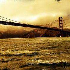 golden gate, San Francisco, California - Golden Gate Bridge by Kevin Ivers.