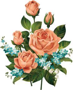 Decoupage Vintage, Decoupage Paper, Vintage Diy, Beautiful Flowers Wallpapers, Arte Floral, Botanical Flowers, Flower Images, Flower Wallpaper, Flower Cards