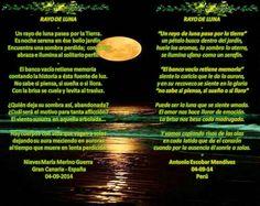 Matrimonio de versos: RAYO DE LUNA