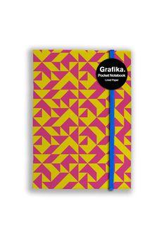 Grafika Yellow/Magenta A6 Carnet