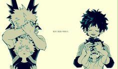 Boku no Hero Academia: Bakugou and Midoriya, es pasado y el presente son muy diferentes...
