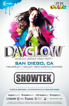 Dayglow San Diego featuring Showtek
