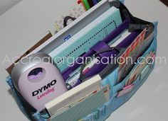 Astuce : détourner un organiseur de sac pour y ranger du matériel