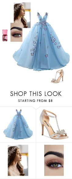 """""""Untitled #215"""" by zahraamuhee ❤ liked on Polyvore featuring INC International Concepts, Brides & Hairpins and Benefit"""