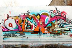 Amuse paints Optimist's name with savy stye and technique.