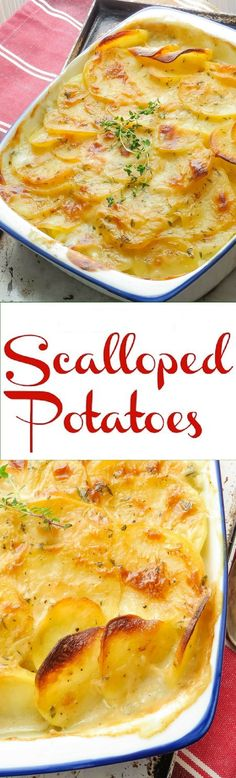 Skinny Scalloped Potatoes ONLY 3 POINT!!