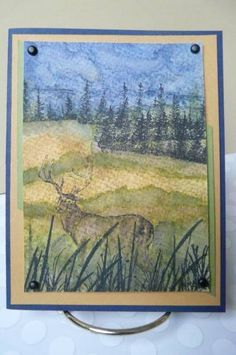 Rain Deer by asweetjewel - Cards and Paper Crafts at Splitcoaststampers