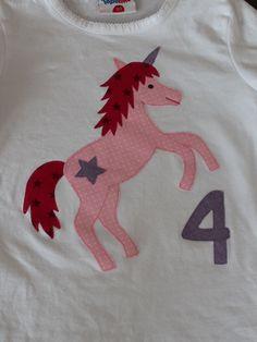 Einhorn Applikation Unicorn