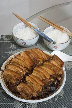 Look See Eat: Hakka Mei Cai Kou Rou 梅菜扣肉 (Pork Belly with Preserved Vegetables)
