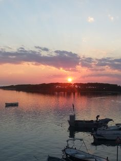 sunset in porto cesareo