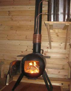 Мастер-класс о том, как из обычного газового баллона сделать печь и водонагреватель, которые можно использовать на даче и в любом другом месте, где нет тепла и горячей воды.             …