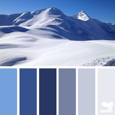 SnapWidget | my head exploded with serious happiness when @ab_alessia_ shared her awe inspiring photo taken in Livigno, Italy at 3000 meters above sea level ... the first reason for said head explosion is the obvious fact that Alessia's photo is simply *incredible* ... the second being that blue is my *favorite* color and this palette inspires me for everything from home to my wardrobe ... thank you *so much* Alessia for sharing your wonderful work in #SeedsColor