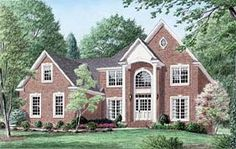 Colonial House Plan 67121 Elevation