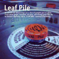 Leaf Pile (pumpkiny) | Greenport Harbor Brewing Co.