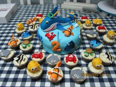 This Is Made For A 2 Year Old Boy Who Loves Sea Creatures 5th Birthday Party IdeasBoy