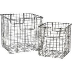 crosshatch baskets