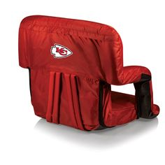 Flexibility in a stadium seat that is comfortable and has style. Kansas City Chiefs Ventura Recreational Stadium Seat