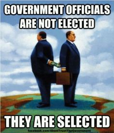 Corporate sponsors. The politicians need money to get elected. The whole system is corrupt. Until you take money out of politics, it will remain corrupt.