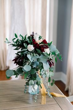 "If you're planning to say, ""I do"" this summer, avoid your #bouquet from wilting by keeping it hydrated in a vase before you walk down the aisle. Photographer: @letitbee.photography  #rosebouquet #whimsicalbouquet #fallweddingbouquet #diybouquet Bulk Wedding Flowers, Winter Wedding Flowers, Fall Wedding Bouquets, Diy Bouquet, Rose Bouquet, Winter Wedding Flower Inspiration, Wedding Ideas, Bulk Flowers Online, Eucalyptus Bouquet"