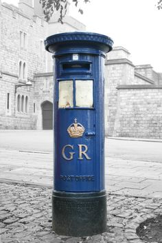 George V - Blue Airmail, High Street, Windsor Can I buy one for my house please?