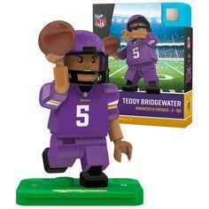 Teddy Bridgewater Minnesota Vikings OYO Sports Generation 5 Player Minifigure - $9.99