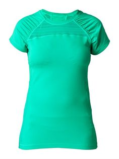 Endurance Tee by Roxy, more personality than your average tech tee :) #ROXYOutdoorFitness