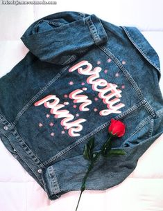 Custom Painted Denim Jacket Let me custom paint for you! thelaurenschneider 2019 Custom Painted Denim Jacket Let me custom paint for you! Customised Denim Jacket, Painted Denim Jacket, Painted Jeans, Painted Clothes, Denim Paint, Hand Painted, Painting On Denim, Custom Clothes, Diy Clothes