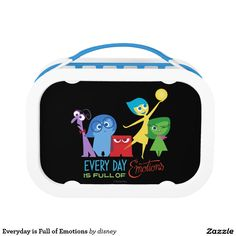 Everyday is Full of Emotions Yubo Lunch Box