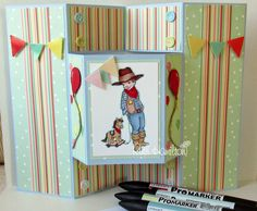 A Passion For Cards: Belle and Boo stamp card - Demo at Donegal Stationery on Saturday