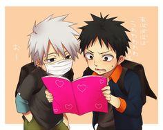 KaKashi, Obito, and the book of secrets !!!