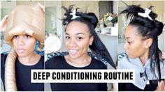 Deep Conditioning Routine | Low Porosity Hair [Video] - http://community.blackhairinformation.com/video-gallery/natural-hair-videos/deep-conditioning-routine-low-porosity-hair-video/