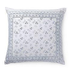 Bauernleinen-Kissen, Blumenranke Bed Pillows, Pillow Cases, Creative, Scrappy Quilts, Weaving, Patterns, Gifts, Pillows