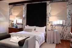 Manor House bedroom with king bed Merle, King Beds, Home Bedroom, House, Furniture, Home Decor, Decoration Home, Room Decor, Haus