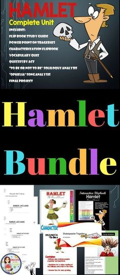 Covers the entire play of Hamlet!Includes film clips for differentiation. Guided Reading Activities, Reading Strategies, Writing Activities, Secondary Resources, School Resources, Text Dependent Questions, Ninth Grade, Literacy Stations, Book Study