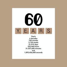 60ste verjaardag Card mijlpaal verjaardagskaart de grote 60