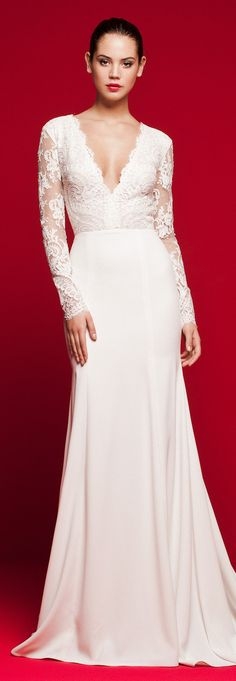 Fitted lace Wedding Dress - Daalarna 2018 Love Story Bridal Collection