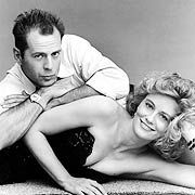Couple crush 1 in the 1980s - Moonlighting with Bruce Willis and Cybill Shepherd