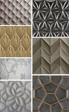 lately loving: 3-dimensional tile
