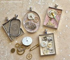 My Salvaged Treasures: Jewelry in Progress