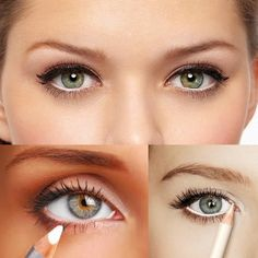 Colored Or White Eyeliner For Stylish New Years Eve Makeup Looks
