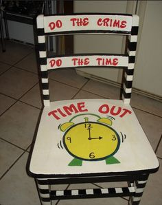 Time Out Chair On Pinterest Time Out Stool Chairs And