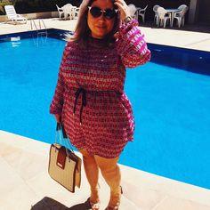 O que você tem de diferente é o que você tem de mais bonito.  #kiu #instafashion #instagram #instagramers #picgrid #pic #fashiongram #fashion #moda #fashionista #ootd #dialindo #sol #look #lookdujour #dujour #mademoiselle #fotododia #piscina #pink #instagram