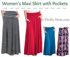 Womens Maxi Skirt w
