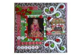 pinterest christmas scrapbook pages | Christmas Scrapbooking Page
